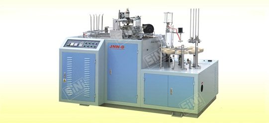 JNW-d Paper Sleeve Forming & Closing Machine